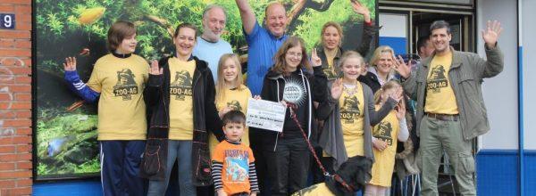 Zoo-AG erhält Aquaristik-Gutschein