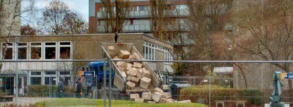 Neugestaltung des Schulhofs