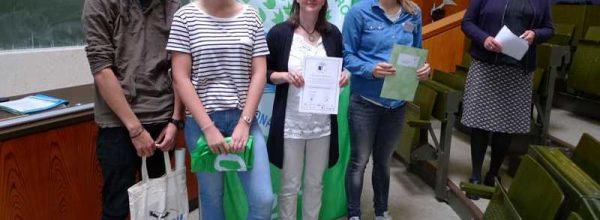 Auszeichnung Umweltschule in Europa