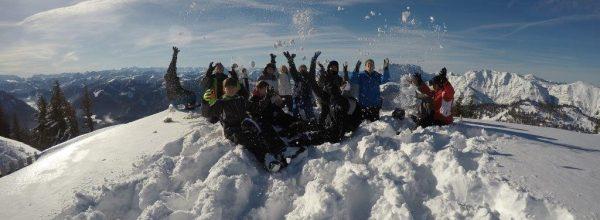 Die Skireise 2018