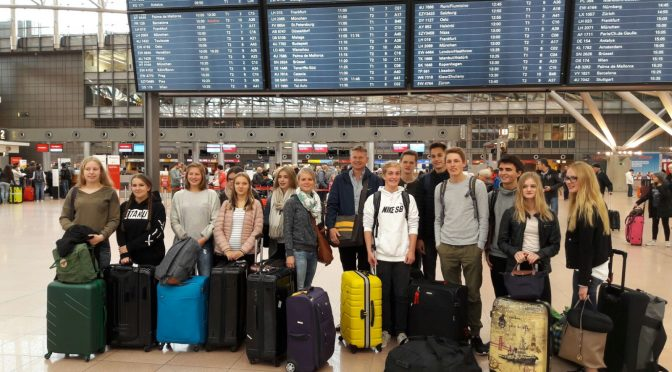 Schülergruppe vom JBG in Israel
