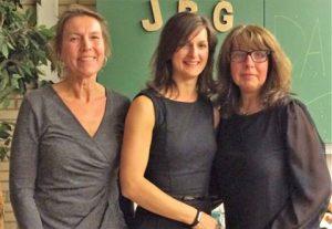 Diese drei sympathischen Damen haben das JBG - Helferfest am 5. Oktober 2016 organisiert.