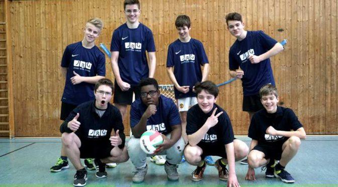 WK2 männlich Volleyballer schaffen den Einzug ins Finale