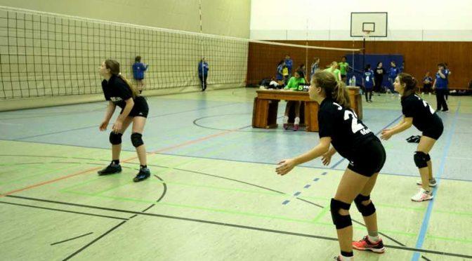 WK4 Volleyballer traten kämpferisch bei der zweiten Zwischenrunde auf