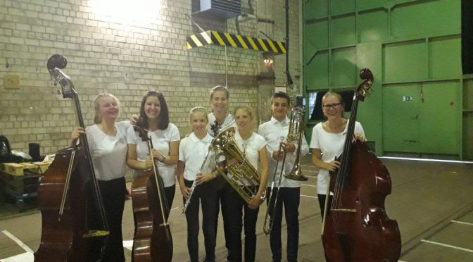 Großes Konzert in der Kampnagel Kulturfabrik – Neun Schülerinnen und Schüler unserer Schule haben mitgespielt!
