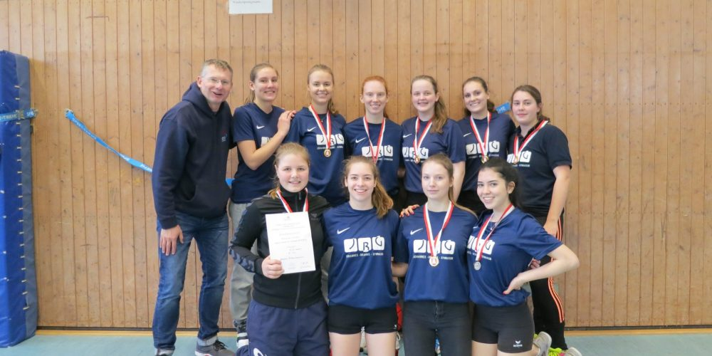 Volleyballerinnen des JBG Hamburger Meister!