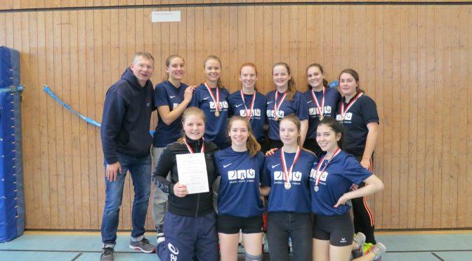 Volleyballerinnen des JBG Hamburger Meister!