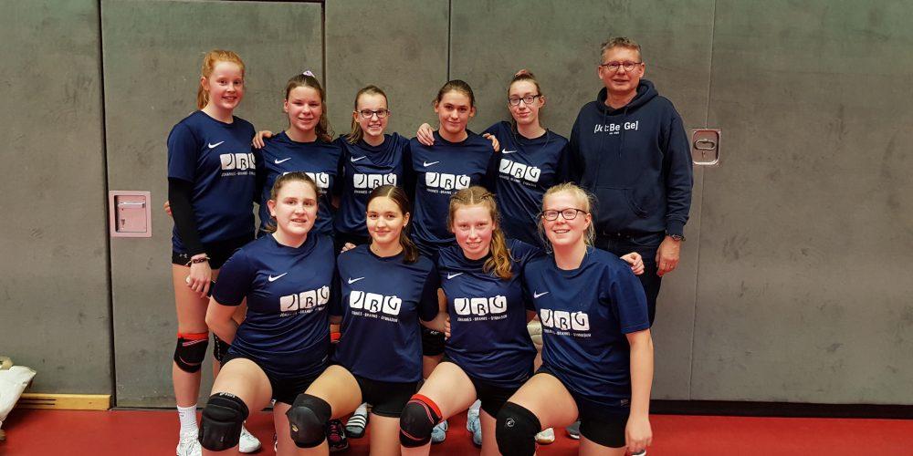 Volleyballerinnen erreichen das Landesfinale