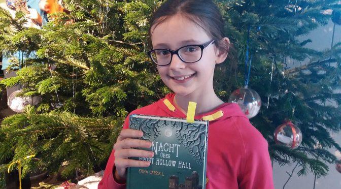 Katharina Brahm überzeugt beim Vorlesewettbewerb 2019