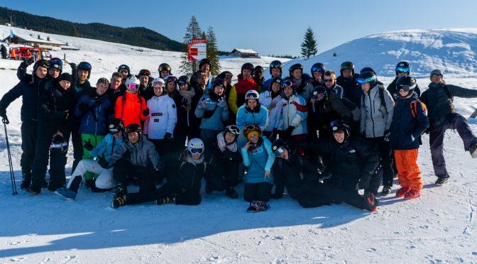 JBG auf Skireise