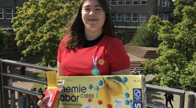 Finja gewinnt erneut den 1. Preis beim NATEX Wettbewerb